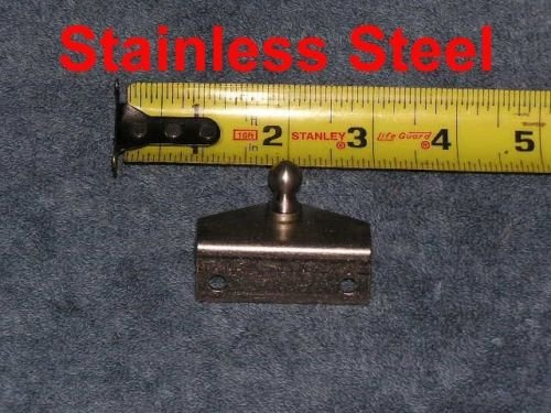Stainless Steel Strut OUTSIDE Angle Bracket Spring Plate Mount Stud for Marine Boat (Brackets Marine Stainless)