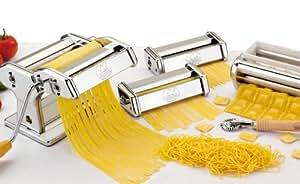 Marcato multipast pasta and ravioli machine set - Macchine per la pasta casalinga ...