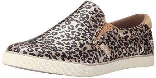 Gola Women's Delta Safari Fashion Sneaker, Gold/Leopard, 9 M US