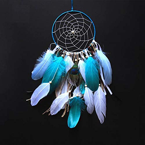 - Buvelife Dream Catchers - Natural Feather Handmade Dream Catcher - Boho Decoration Hanging Home Ornament Craft Gift