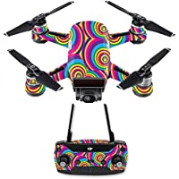 Skin for DJI Spark Mini Drone Combo - Groovy 60s| MightySkins Protective, Durable, and Unique Vinyl Decal wrap cover | Easy To Apply, Remove, and Change Styles | Made in the USA