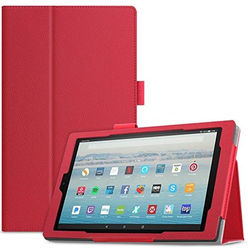 Infiland All-New Fire HD 10 2017 Case - Premium Folio Smart