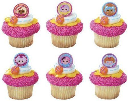 1 X 12 ~ Lalaloopsy Friends Together Rings ~ Designer Cake/Cupcake Topper ~ New!!!!!