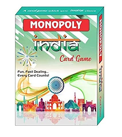Rapid Print Pack Monopoly Deal Card Game (India Edition)