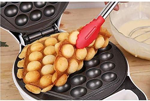Egg Gaufrier avec Bonus Recette E-Book - Faire Hong Kong Style Bubble Egg Waffle en 5 Minutes AC 110V, 50 / 60Hz 640W