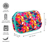 ZIPIT Colorz Large Pencil Box for Girls