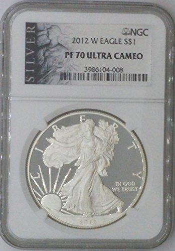 2012 W American Eagle $1 PF70 NGC PF