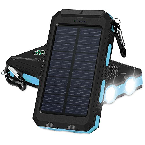 Solar Powered Cellphone Charger Case - 5
