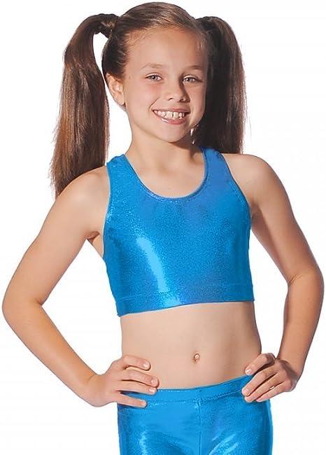 Roch Valley Crop 3//4 Leggings Nylon Lycra Shiny Black-Dance Gymnastics Freestyle