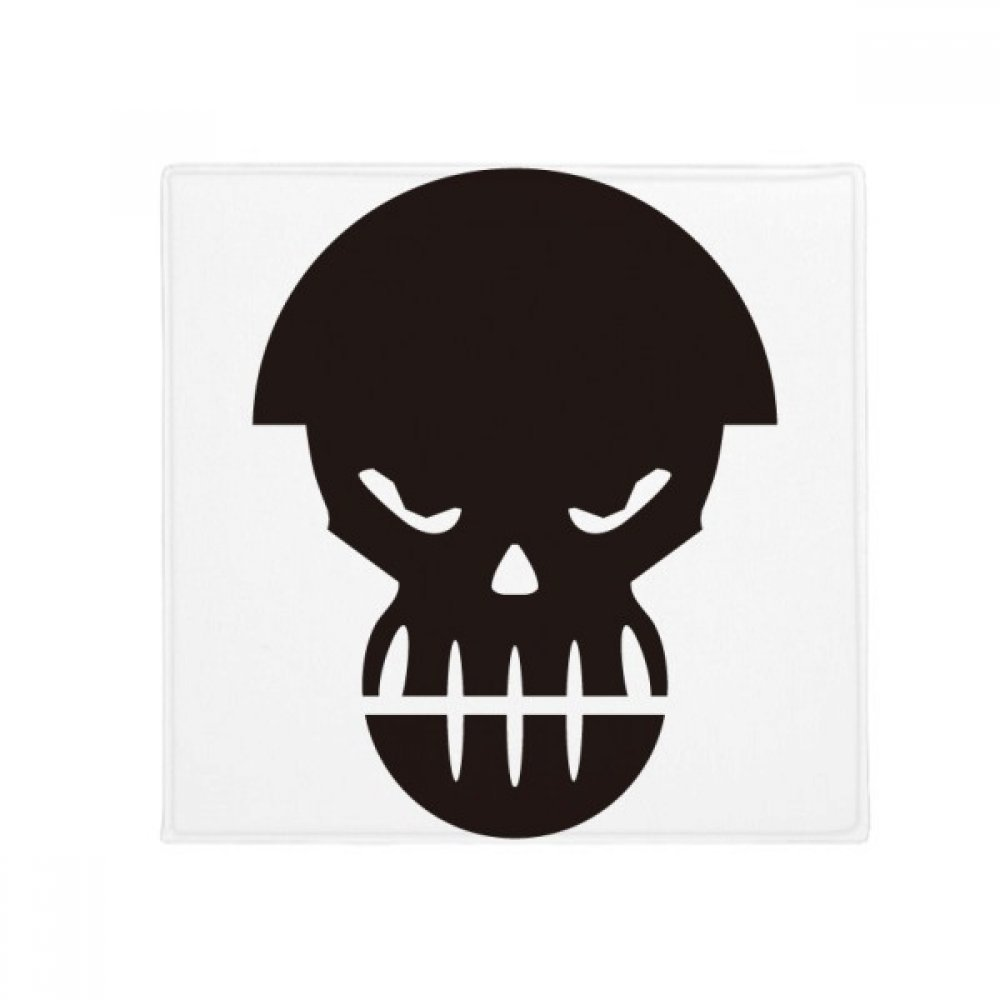 DIYthinker Angry Pollution Human Skeleton Helmet Anti-Slip Floor Pet Mat Square Home Kitchen Door 80Cm Gift