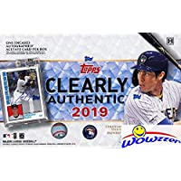 $59 » 2019 Topps Clearly Authentic Baseball Factory Sealed HOBBY Box with Encased ON-CARD…