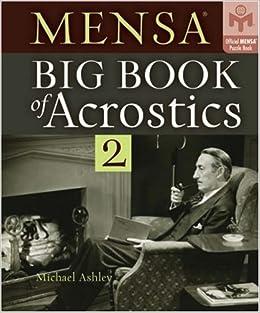 Mensa Big Book of Acrostics 2 (Official Mensa Puzzle Book)
