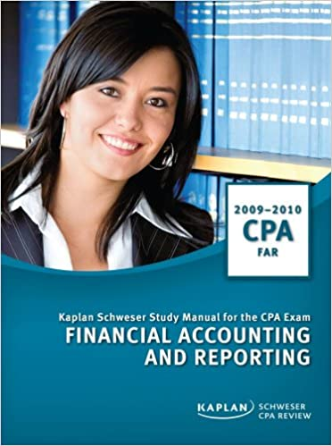CPA Exam Study Manual: Financial Accounting and Reporting 2009/2010