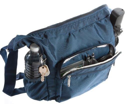 Suvelle Lightweight Hobo Travel Everyday Crossbody Bag Multi Pocket Shoulder Handbag 9020 by SUVELLÉ (Image #5)