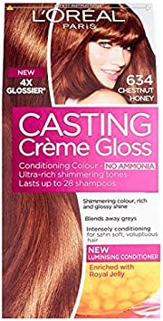 L Oréal Paris – Casting creme gloss 634 Castaño Miel: Amazon ...