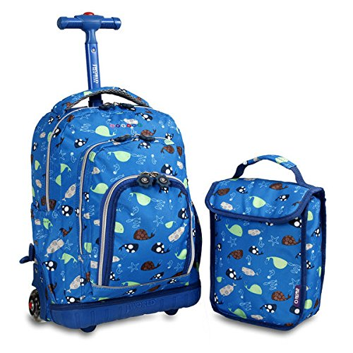 j-world-seaworld-lollipop-16-inch-rolling-backpack-and-lunch-bag-set