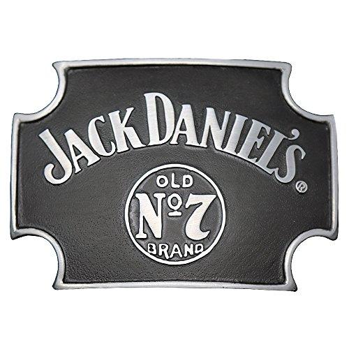 Used, Jack Daniels Brand Maltese Cross Black Belt Buckle for sale  Delivered anywhere in USA