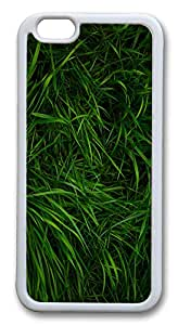 """Awesome iPhone 6 Cases, ICORER iPhone 6 Case Greeny Grass TPU Rubber Silicone Soft Case Back Cover for Apple iPhone 6 4.7"""" White"""