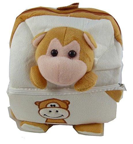 Niños infantil mochila animal lindo - Lindo oso de peluche de diseño (con cierre frontal)