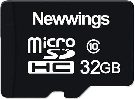 Amazon.com: Newwings - Tarjeta micro SD de alta velocidad de ...