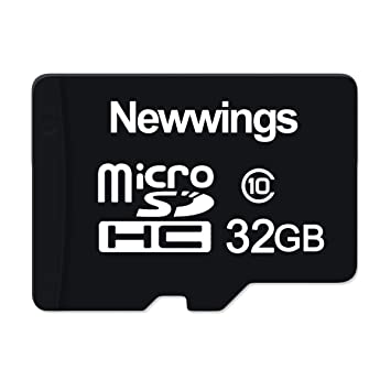 Newwings - Tarjeta Micro SD de 32 GB para cámaras de acción ...