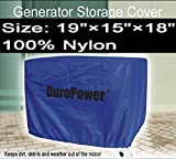 Doublelux New Nylon Universal Weatherproof Generator cover - Nylon Cover for small, medium and large - outdoor (19'' L x 15'' W x 18'' H)