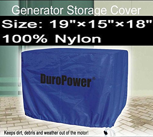 Doublelux New Nylon Universal Weatherproof Generator cover - Nylon Cover for small, medium and large - outdoor (19'' L x 15'' W x 18'' H) by Doublelux