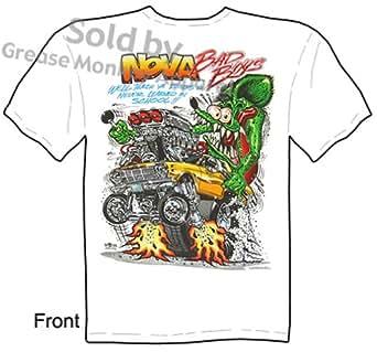SIZE Medium Rat Fink T Shirt 62 63 64 Nova Bad Boys Ed Roth Tee Big Daddy