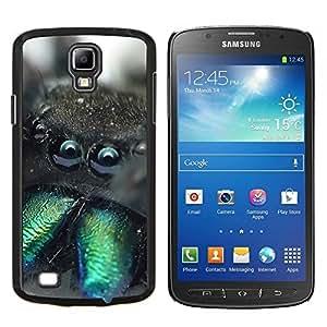 LECELL--Funda protectora / Cubierta / Piel For Samsung Galaxy S4 Active i9295 -- Divertido Weird Araña Tarántula Macro --