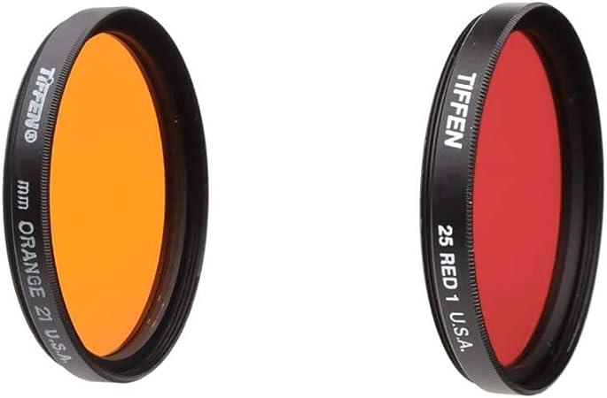 Tiffen 49 Red 25 Filter /& 49mm Circular Polarizer