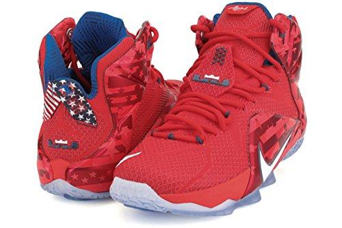 Lebron XII Basketball-Schuhe, 9,5
