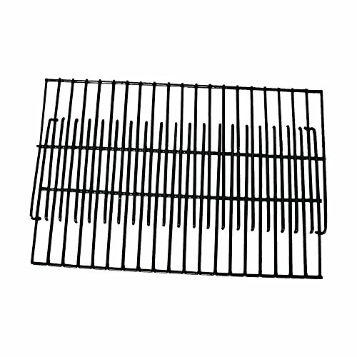 Brinkmann Set of Two Universal BBQ Grill Porcelain 19 inch Cooking Grates for Weber Gas Grill Models ()