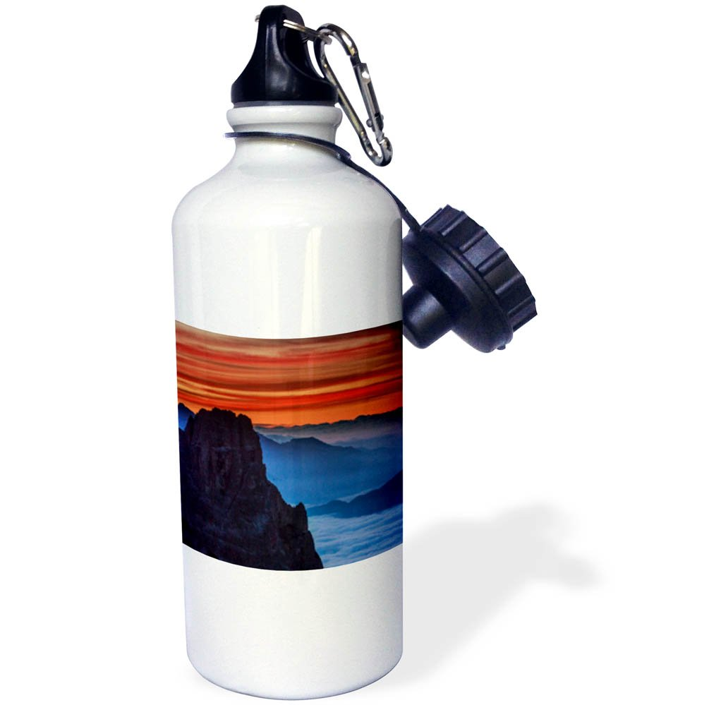 3dRose Danita Delimont - Mountains - South Tyrolean Dolomites, Italy - 21 oz Sports Water Bottle (wb_277540_1)