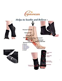 Enhanced Circulation Compression Foot Sleeve Pain Relief Heels and Feet Plantar Fasciitis Socks Compression Ankle Brace Heel Arch Support for Men/Women