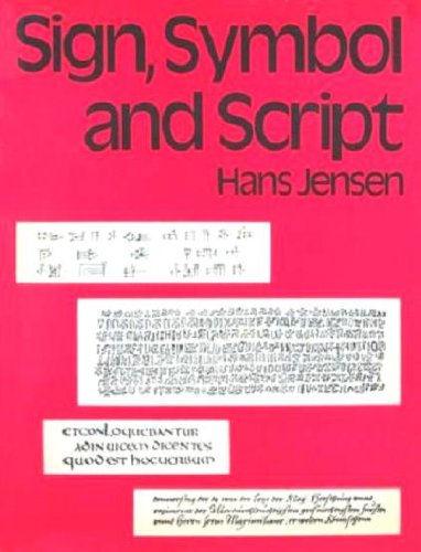 Sign, symbol and script: An account of man