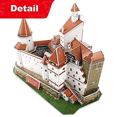BRAN Castle-The Legend of Count Dracula Puzzle Model 3D Model Kits ()