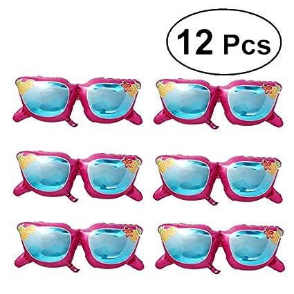 BESTOYARD 12pcs Gafas de Sol Globo Divertido en el Sol Gafas ...