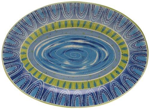 Certified International Tapas Oval Platter, 16 by 11.75-Inch