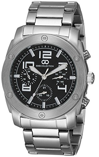 Gio Collection Multifunction Black Dial Men #39;s Watch G1015 22