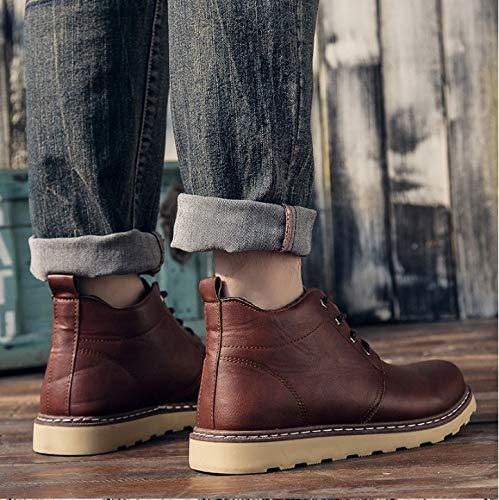 Hiver D'extérieur Pour Plates Fmwlst Bottes Hommes Antidérapantes Chaussures vqwf8
