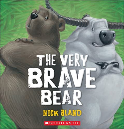 Book The Very Brave Bear