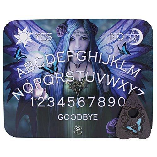 Ouija Spirit Boards Mystic Aura Spirit Board With Planchette Anne Stokes (Halloween Spirit Board Game)