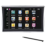 Acouto GPS Navigation for Car, 7 inch Touch Screen 8GB Lifetime Map Updates GPS Navigator with Touch Screen Pen (North America Standard)