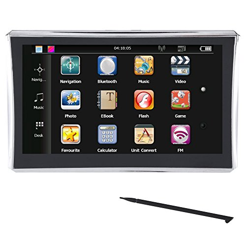 Acouto GPS Navigation for Car, 7 inch Touch Screen 8GB Lifetime Map Updates GPS Navigator with Touch Screen Pen (North America Standard) by Acouto
