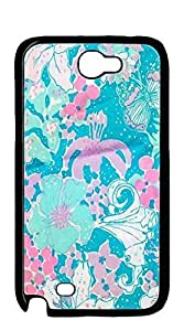 Custom made Case/Cover/ case for samsung galaxy note 2 - lilly pulitzer writing under the sun