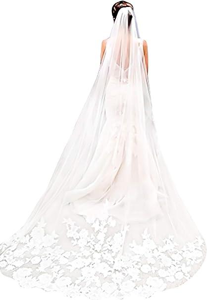1,5 mt Spitze Braut Voile Mariage Brautschleier Hochzeit Zubehör 1 Schicht WR