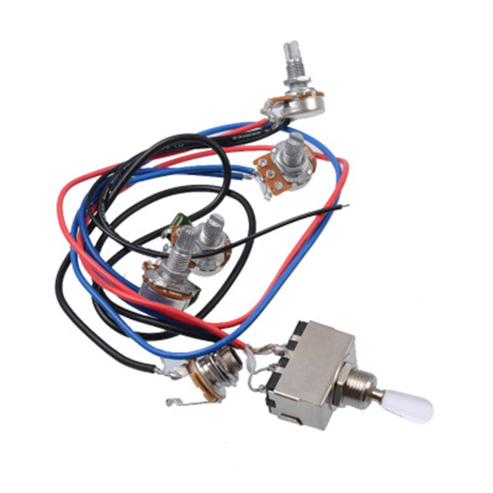 LP Kit de arnés de cableado eléctrico para guitarra, 2 T2 V ...
