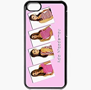 Personalized iPhone 5C Cell phone Case/Cover Skin Ada Nicodemou Black