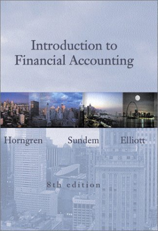 Introduction to Financial Accounting and Cisco Report Package (Shrinkwrap) by Charles T. Horngren (2002-01-15)