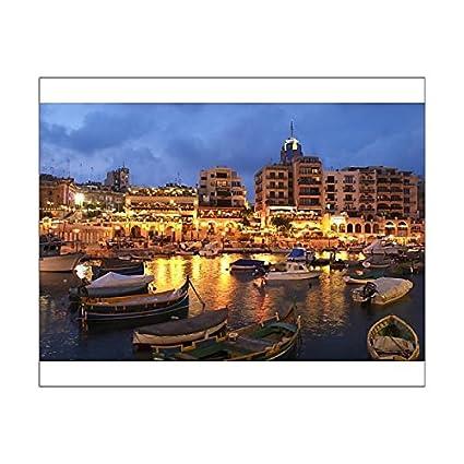 Amazoncom 20x16 Print Of Evening Across Spinola Bay With